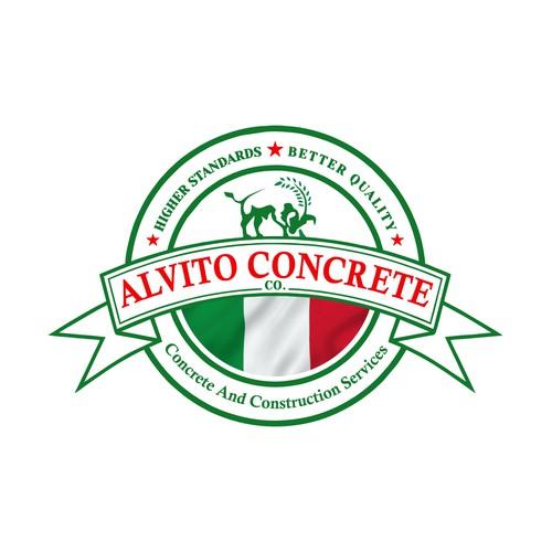 Alvito Concrete Logo