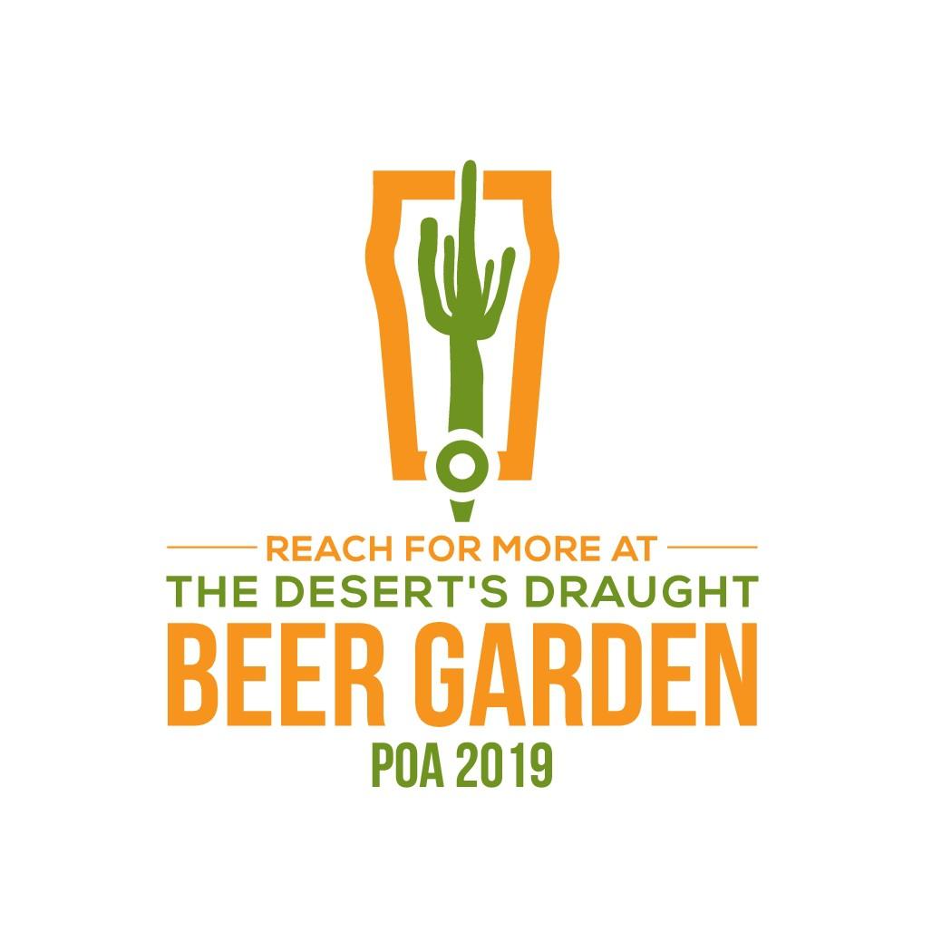 Beer Garden Event Logo