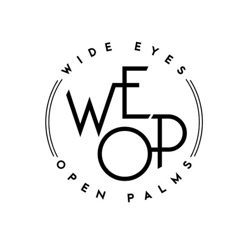 Wide Eyes Open Palms