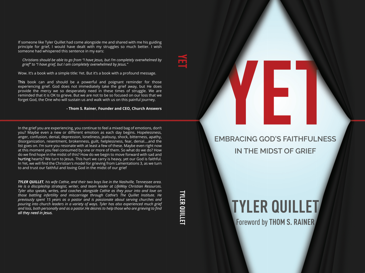 """Yet"" Book Cover Design"