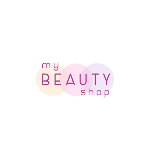 modern logo for beauty online shop