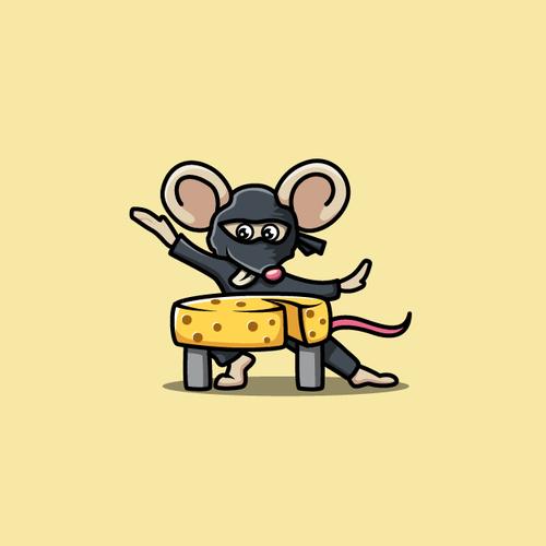 Badass Ninja Mouse