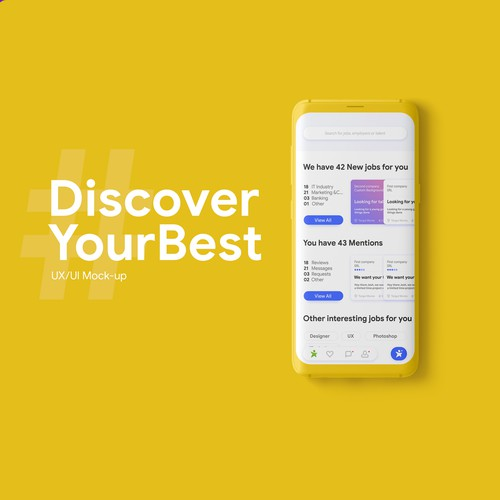 Besjobs.eu App redesign