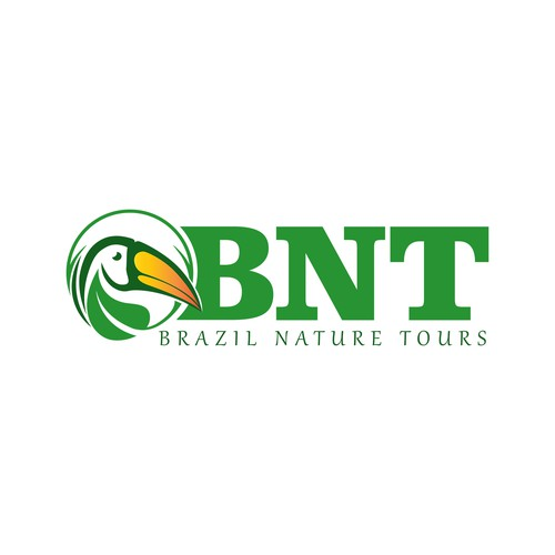 Concept logo for a quality wildlife tour company in Brazil