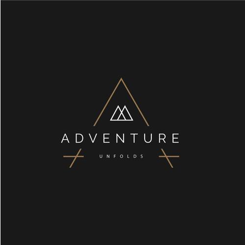 Adventure Unfolds Logo Design