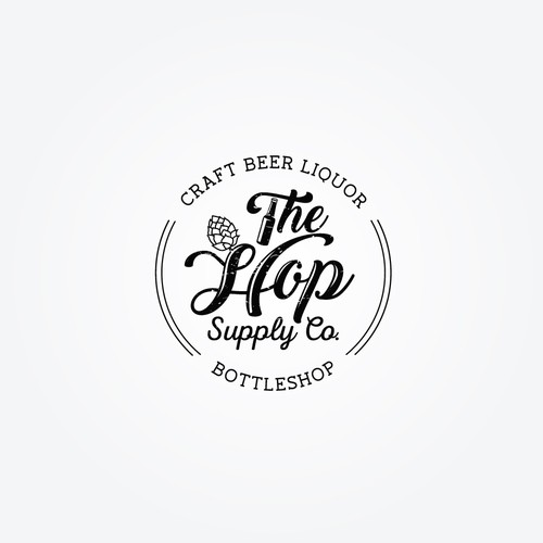 craft beer bottleshop Logo