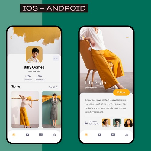 Social App - iOS & Android