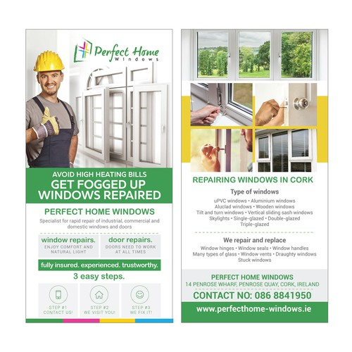 Window & Door Repair Flyer