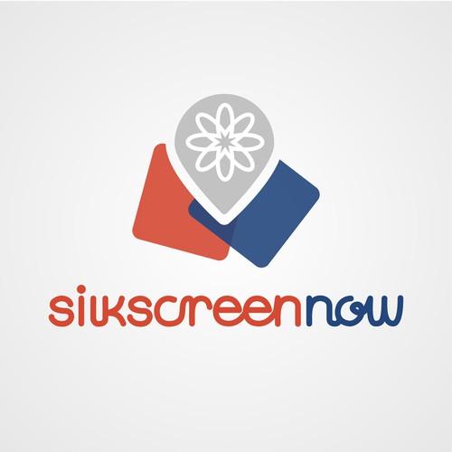 Initial logo concept for SilkScreenNow