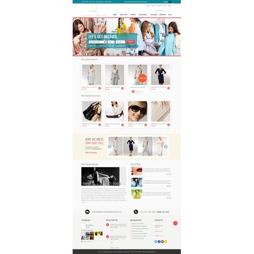New website design wanted for runwaydream