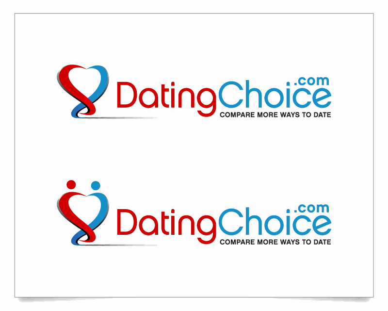 Create a modern appealing logo for a dating comparison site