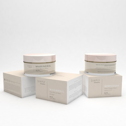 Packaging Design for Simply Elements
