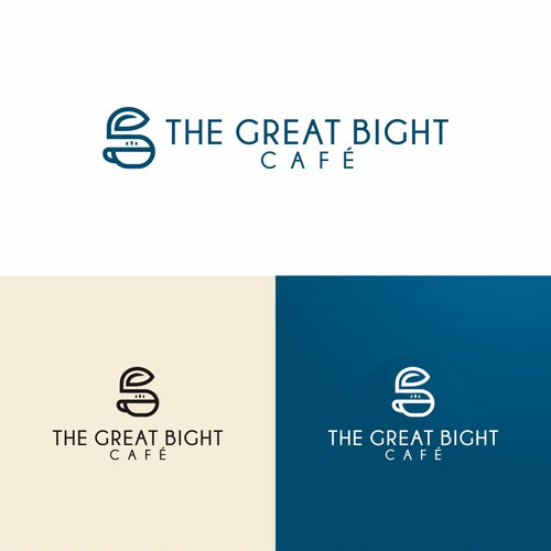 Line logo for healthy cafe and restaurant