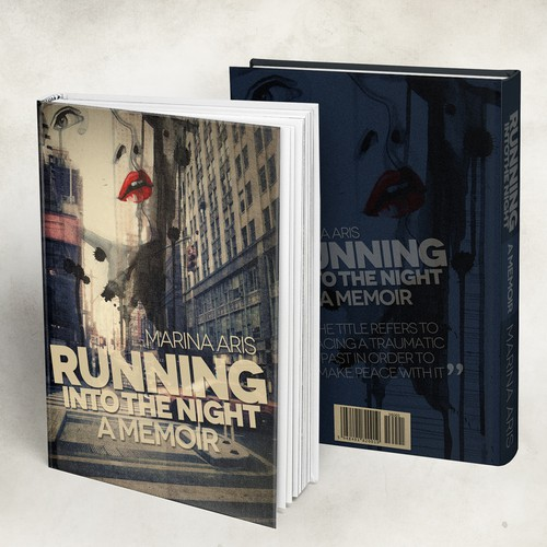 Running into the night cover