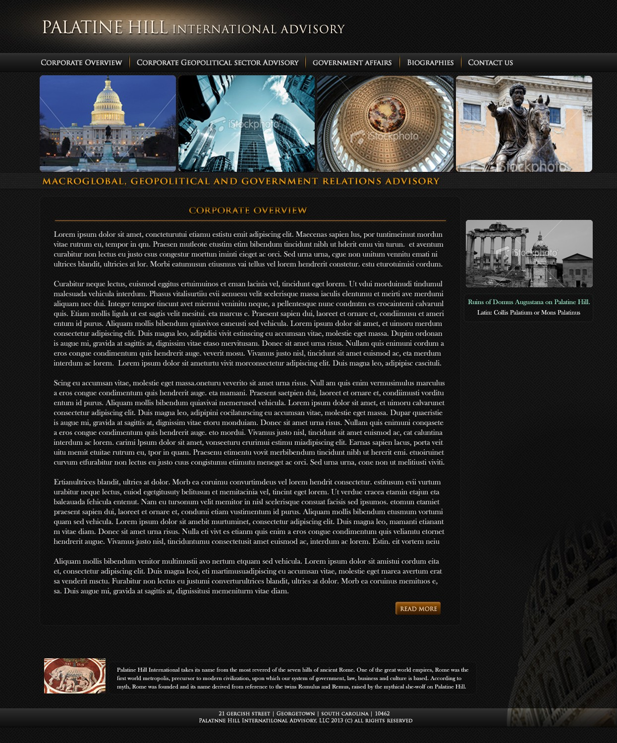 Help Palatine Hill  with a new website design