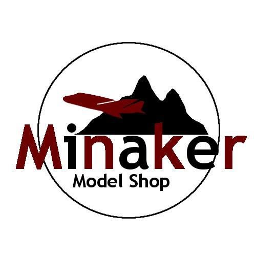 logo design for model shop