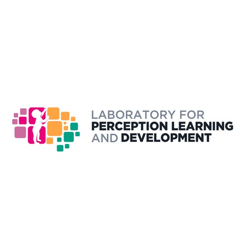 Logo design for Laboratory for Perception Learning and Development