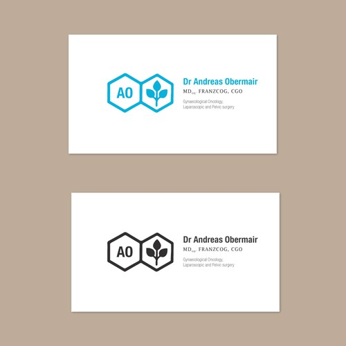 Create a brand design for an UpToDate gynaecological surgeon