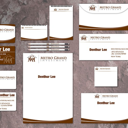 New stationery wanted for MGI