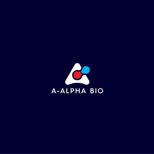 A-Alpha Bio logo design