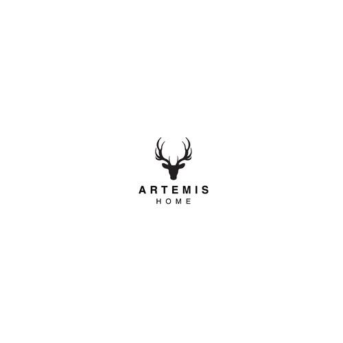 Logo Artemis, the Greek goddess of the hunt