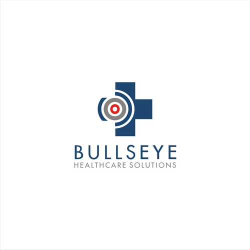 logo concept for Bullseye healthcare solutions