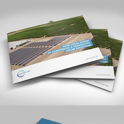 Modern Brochure Design for Solar Company