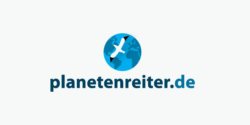 logo for planetenreiter.de travel blog