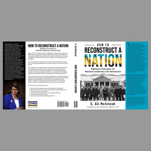 "Book cover ""How to reconstruct a Nation"""