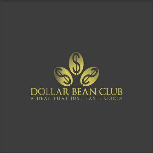 Simple Logo Style for Dollar Bean Club