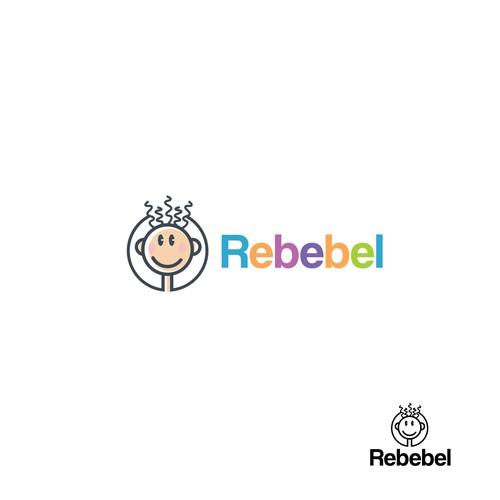Rebebel kids logo