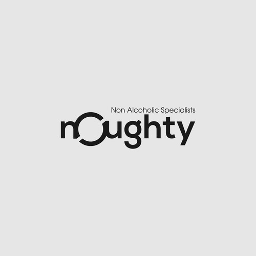 Create a clever logo with the word n0ughty (as in zero) - Have fun!
