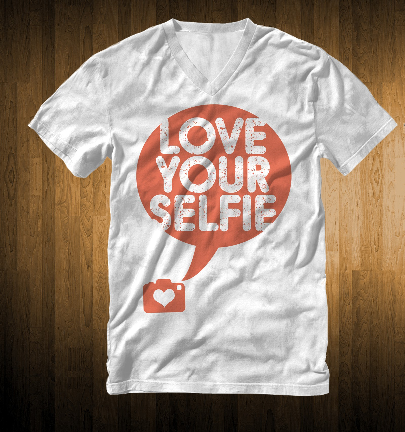 """Love Yourselfie"" t-shirt (fitness"""