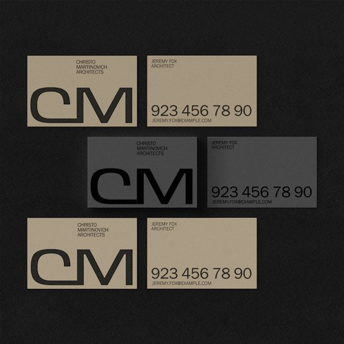 Branding concept for a modern Architectural Company