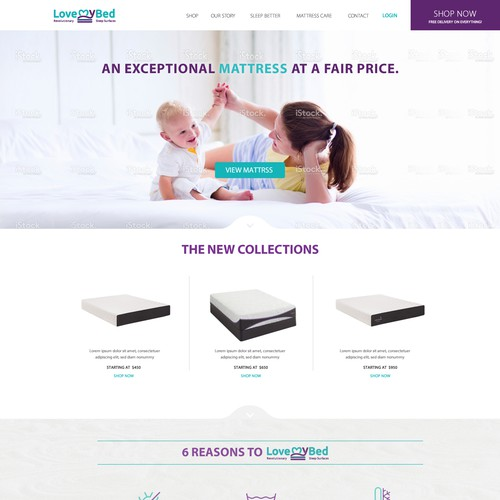 website for mattress