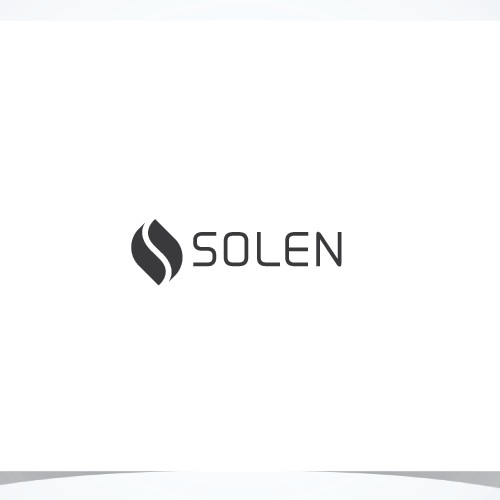 Minimal, trendy logo for SOLEN