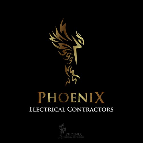 Create an exceptional design for an inovative electrical company.