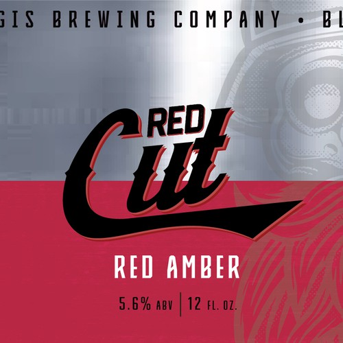 Beer Label, Sturgis Brewing Co. Red Cut Amber Ale