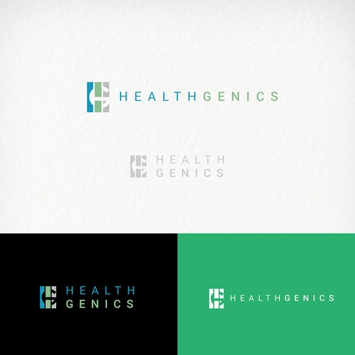 logo concept for health and wellness supplements