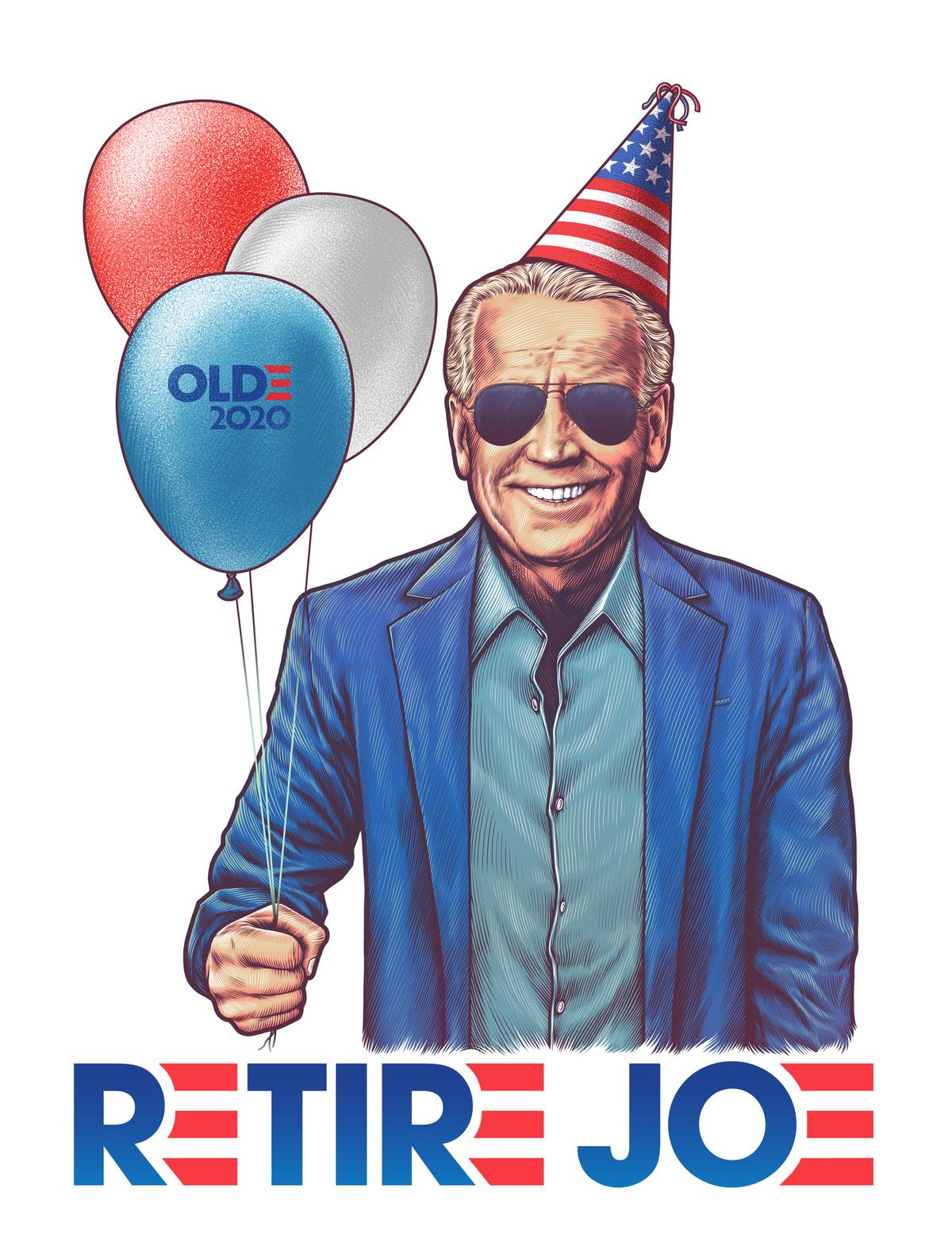 """Logo for """"Retire Joe"""""""