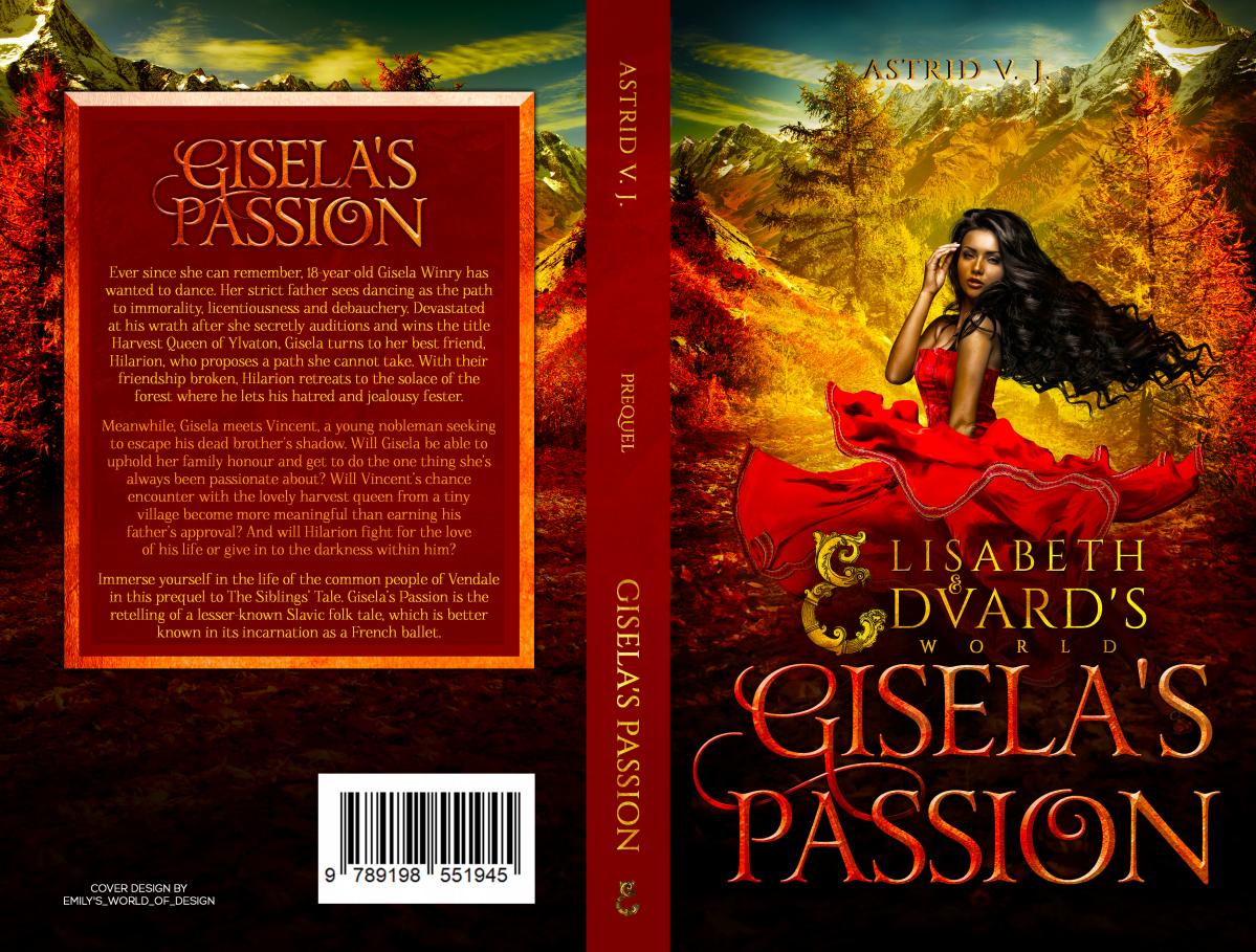 Gisela's Passion cover for European Market