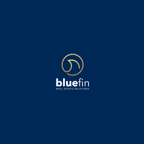 Logo design for bluefin