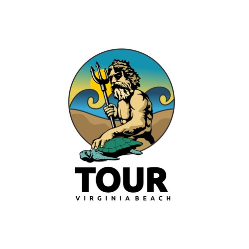Create an AWESOME logo for Virginia Beach, entice people to travel here.