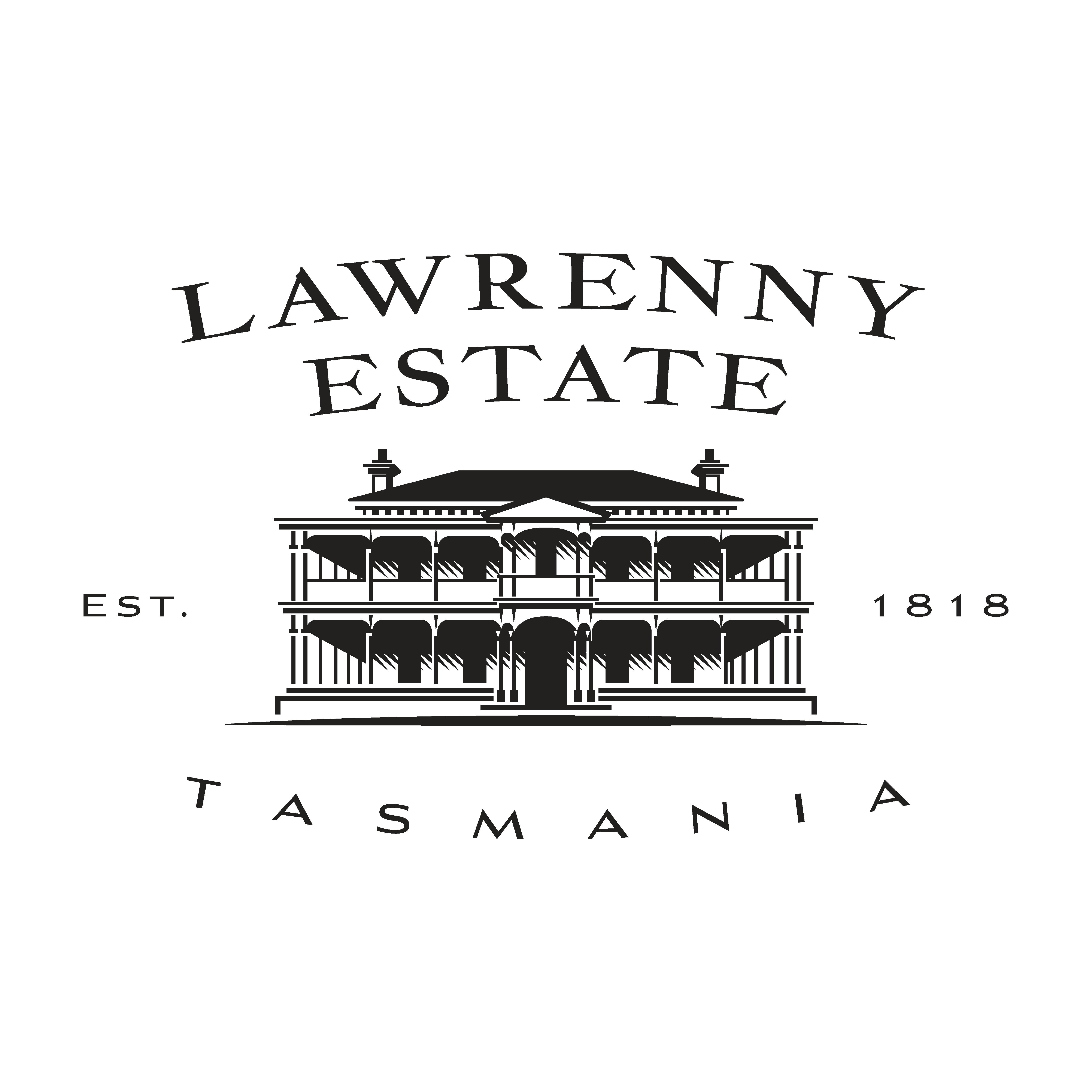 create a logo for Lawrenny Estate Premium produce company  Tasmania