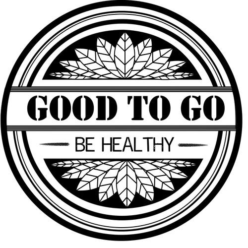 Logo for vegetarian fast food restaurant