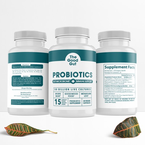 THE GOOD GUT PROBIOTICS