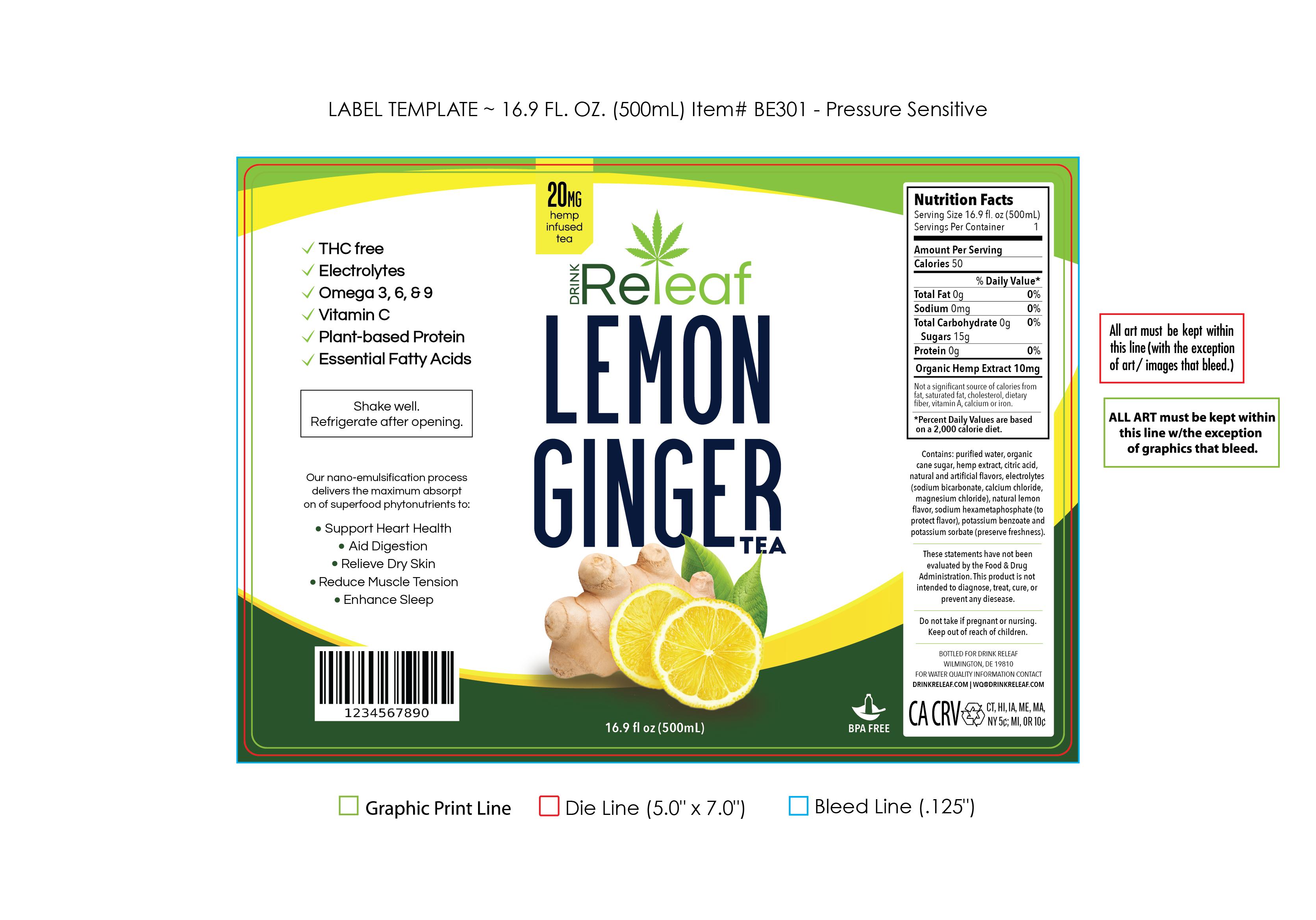 Premium hemp tea company looking for modern eye-catching design
