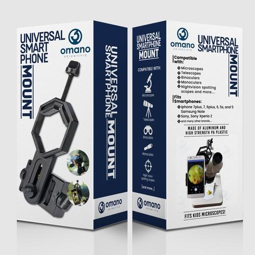 Smartphone Mount Packaging design