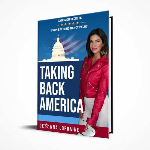 Book Cover Design for a Republican