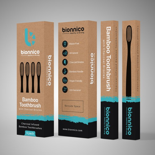 Packaging design for Bionnico